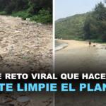 Conoce el reto viral que está haciendo que la gente limpie el planeta