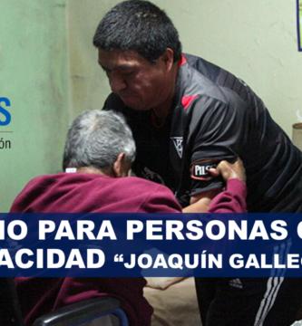 """Bono para personas con discapacidad """"Joaquín Gallegos Lara"""""""